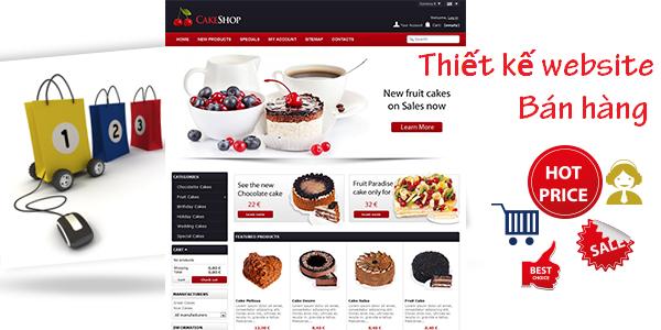 Dịch vụ thiết kế website bán hàng tại Bình Dương